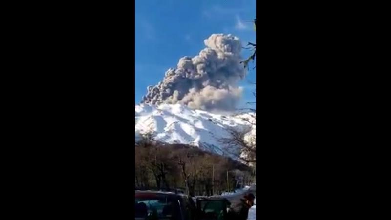 Chile Volcán Nevados Chillan 1 08 2016