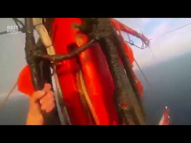 Головокружительное видео с барка Седов