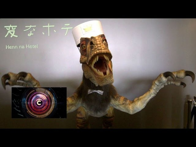 Where hotel is staffed by robots BBC Click