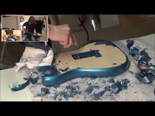 Refinishing my Stratocaster