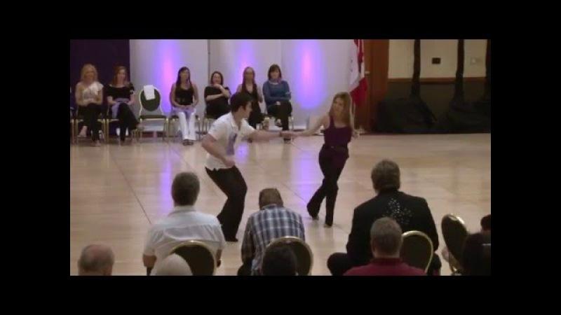 Ben Morris Melissa Rutz Winning Improv West Coast Swing, Seattle Easter Swing