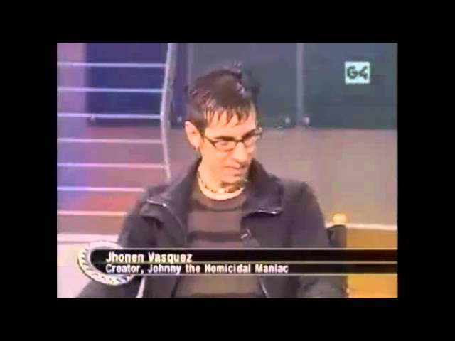 Jhonen Vasquez on ScreenSavers