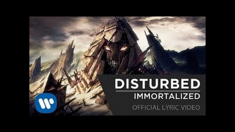 DISTURBED Immortalized Russian Music Lyric Video