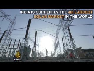 индия солнечная станция