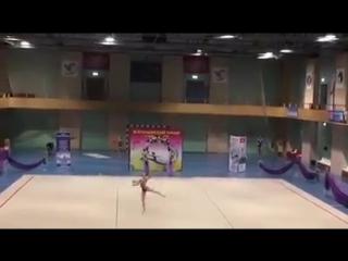 Анастасия Валентирова Мяч - Летняя феерия 2017