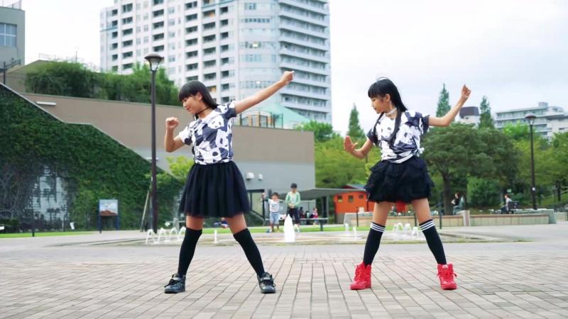 竹下美羽・木崎ゆいん パンダヒーロー 踊ってみた ch2621684 so30015808