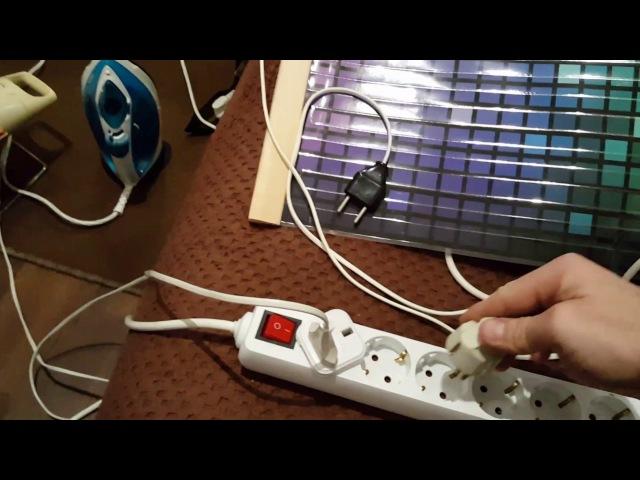 2. Get of free energy from an induction cooker / Съём свободной энергии с индукционной плиты