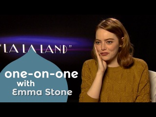 Emma Stone saw 'La La Land' six times, but never saw ' Flashdance' or 'Footloose''!