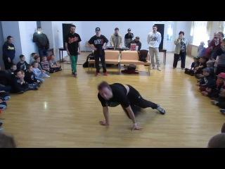 "Bboy PacMan - Судейский (отборы) на ""WazZup Battle TiTans"" г.Кривой Рог"