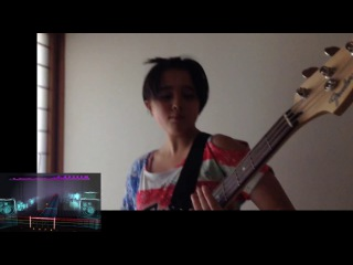 ROCKSMITH Audrey (13) Plays Bass - Hanger 18 - Megadeth -  ロックスミス