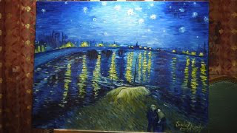 Time lapse Van Gogh copy by Sonko Drimko