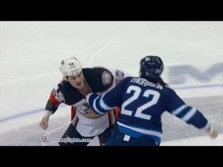 Jared Boll vs Chris Thorburn Jan 23, 2017
