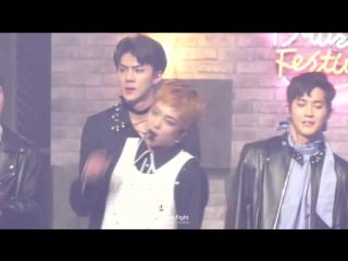 FANCAM 161231 EXO XIUMIN @ MBC Gayo Daejejun
