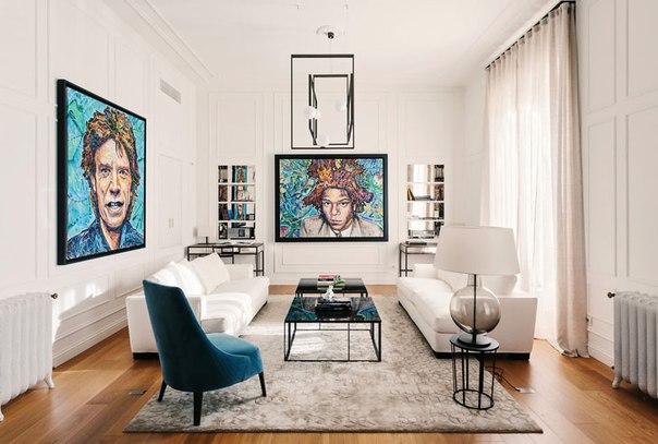 Такой обворожительный дизайн квартиры в Милане  Смотреть все...