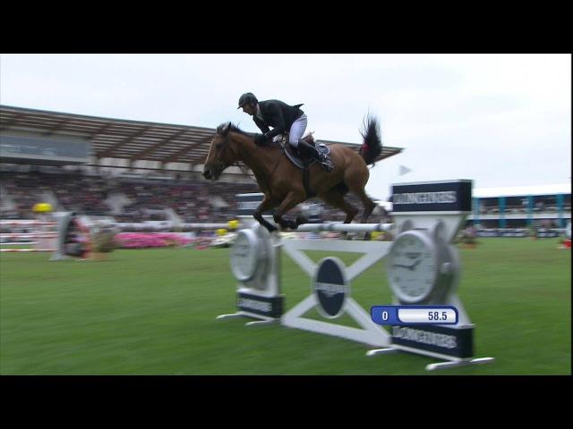 Ornella Mail*HDC et Patrice Delaveau victorieux au CSIO Derby de La Baule 2016