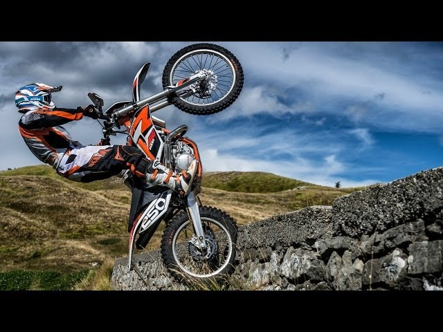 First-Test | KTM Freeride 250R Freeride 350 | Offroad-Action Engl. Subs