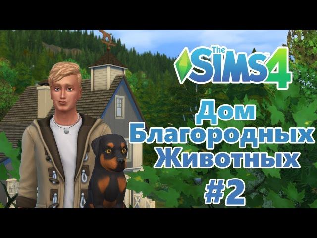 The Sims 4 Дом благородных животных 2 Котята и щенята