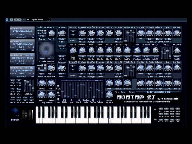 Free VST - Avatar ST Pro Synth - vstplanet.com