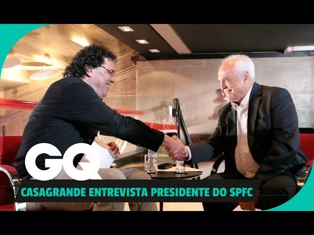Casagrande entrevista Leco, o presidente do SPFC l Lifestyle