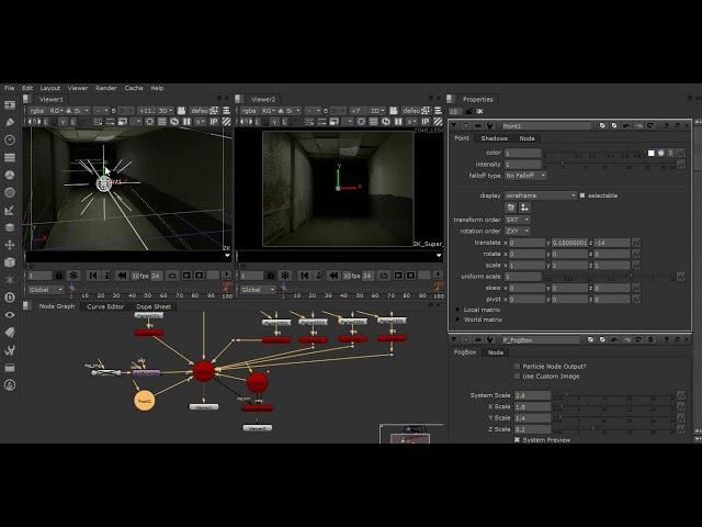 Advance Nuke projection - final part