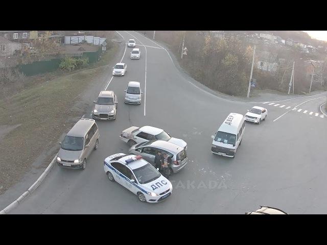 Astakada Находка ДТП 25 октября 2017 ул Пограничная