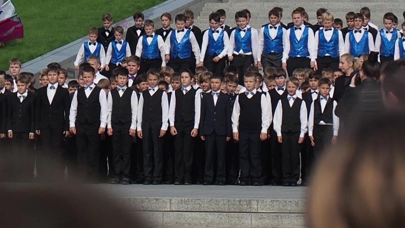 Хоровики 3 класса Музыкального лицея выступили на День Города