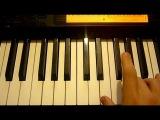 Смоки Мо - Бог любит всех людей (DJ CrAD на пианино)