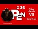 SGL Open 36 NarmTeam VS Fidus eSports