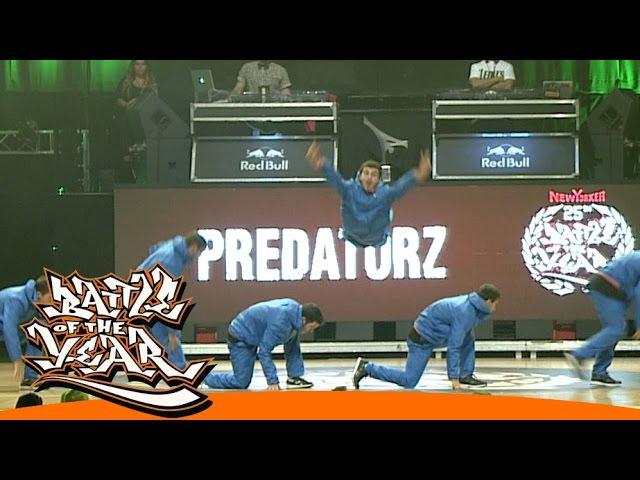 INTERNATIONAL BOTY 2014 - PREDATORZ (RUS) - SHOWCASE [BOTY TV]