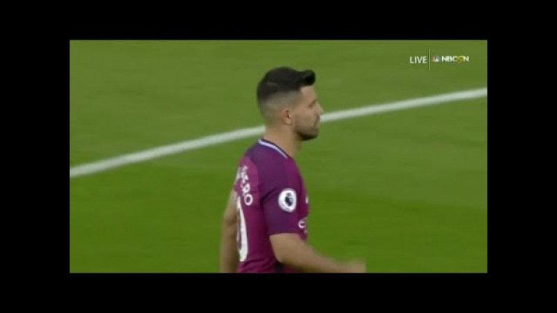 Sergio Aguero vs Watford (16-09-2017) Away