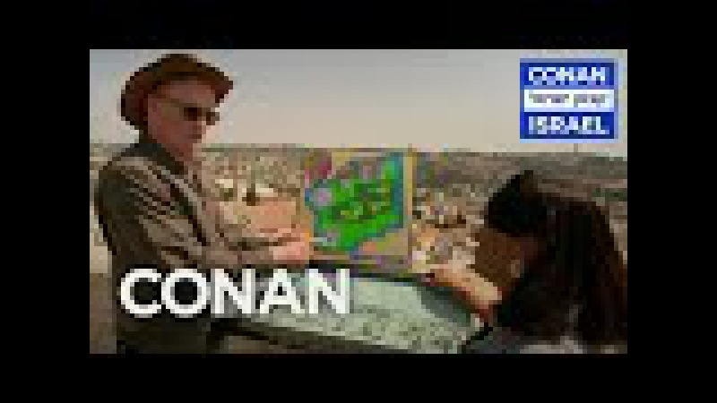 Conan Visits Jerusalem Outlines Trump's Peace Plan - CONAN on TBS