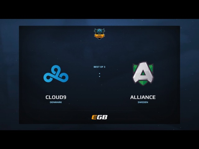 Cloud 9 vs Alliance, Game 2, Dota Summit 7, EU Qualifier