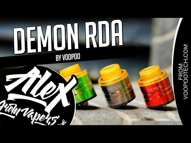 DEMON RDA l by Voopoo l ОН ВАМ НЕ ДЕМОН! l Alex VapersMD review 🚭🔞