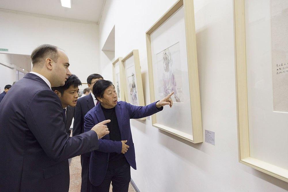 На выставке представлены работы знаменитых художников