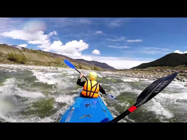 Кавказ 2015 река Теберда река Кубань