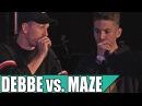 Debbe vs. Maze - Quarterfinal - Danish Beatbox Champs 2016