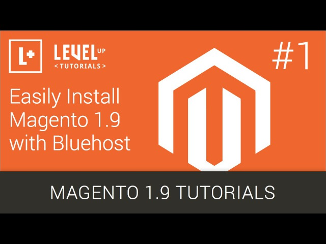 1 Easily Install Magento 1 9 wIth Bluehost