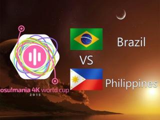 osu! Mania 4K World Cup 2015 Round of 16 - Match B - Brazil vs Philippines