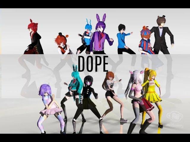 MMD x FNAF BTS Dope