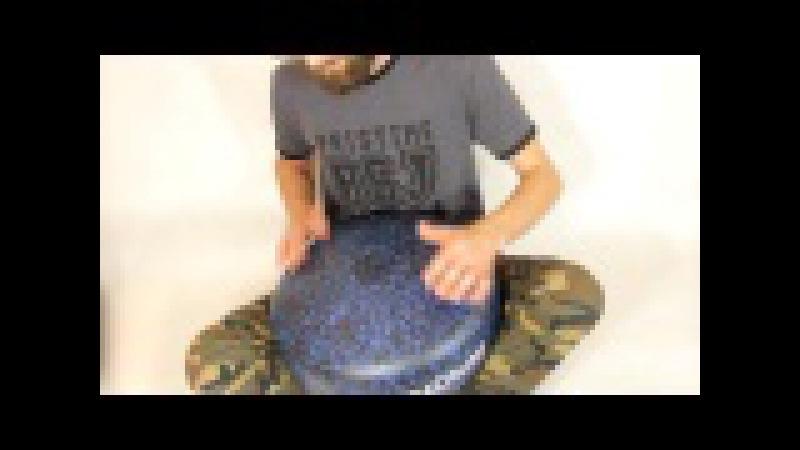 LunaDrum Pro2- E natural minor scale ( handpan - like instrument )