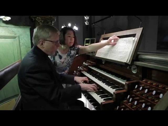 Sonata in g minor by Oskar Lindberg