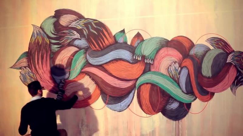 Supakitch and Koralie - Metroplastique Нереально круто рисуют   Art блог