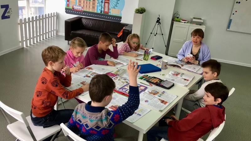 Методика I Love English, курс I Can Read, Школа LESKids Новосибирск