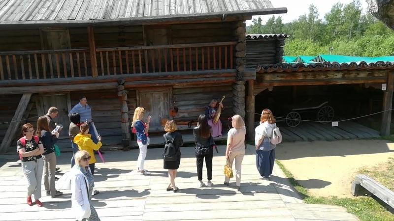 Архитектурно-этнографический музей «Тальцы», украинская народная песня