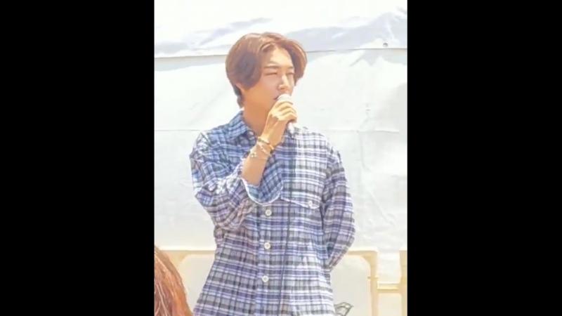 [2018.06.09] Kim Hyun Joong Take My Hand Handshake Event at Minatomachi River Place Osaka