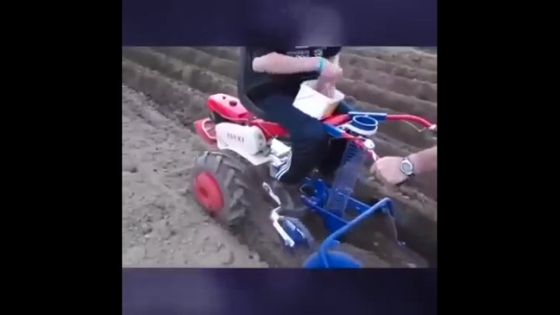 Автоматизированная рассадопосадочная машина