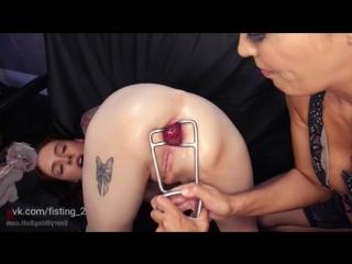 [147] anna de ville, francesca le anal bondage [anal fisting strap-on huge dildo toys kinky lesbian extreme gape]