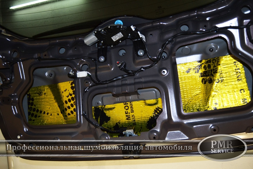 Комплексная шумоизоляция Hyundai ix 35, изображение №10