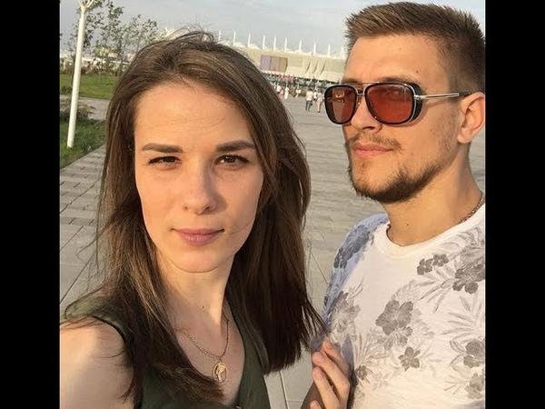 Катя Токарева и Юрий Слободян сходили на матч Южная Корея-Мексика ))