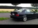 BMW 330i E46 звук выхлопа Launch разгон с места Alpina